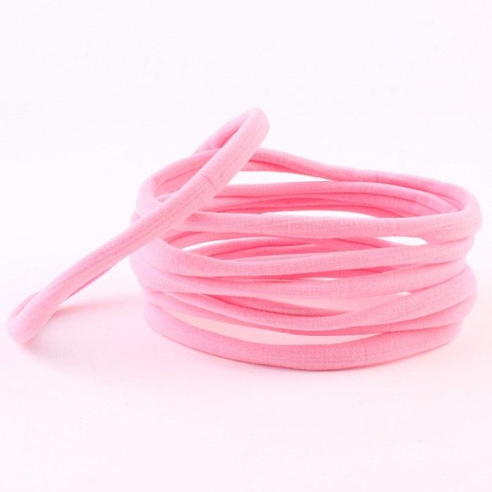 10Pcs/lot Nylon Headband For Baby Girl Hair Accessories Elastic Head Band K Head wear