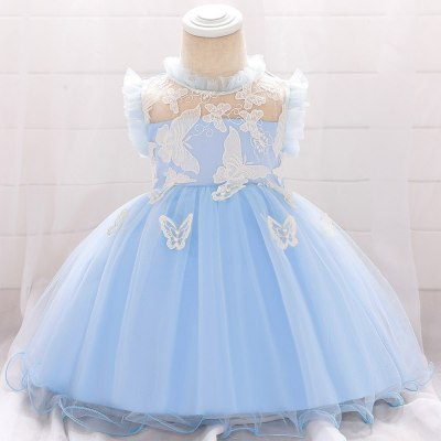 Summer Dress  Girl Birthday Dress For Baby Girl Clothing Party Wedding Dresses Lace Princess Dress