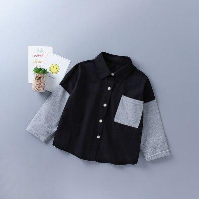 2021 new autumn fashion black white plaid shirt + denim skirt kid children clothes