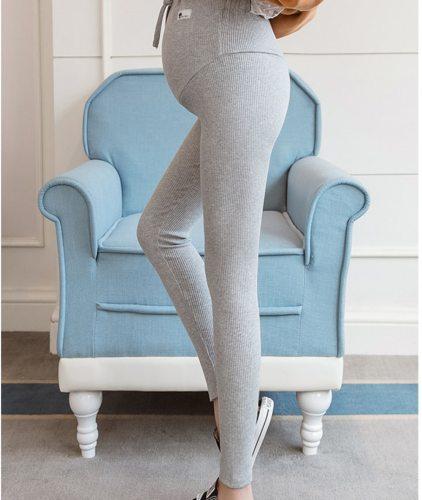 Maternity Pants Soft Slim Adjustable Waist Pregnant Women Leggings Pregnancy Clothes Pants Ropa Mujer Embarazada Premama