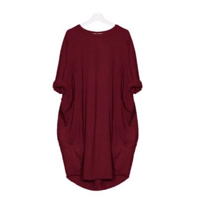 Long Sleeve Casual Loose Dress Maternity Clothes for Pregnant Women Vestidos Gravidas Lady Dress Pregnancy Dresses