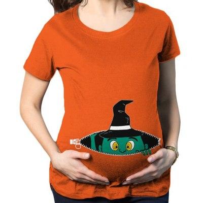 Pregnancy Clothes Funny Maternity T Shirt for pregnant Women plus size3XL t-shirt Summer Premaman Shirts zwangerschaps kleding