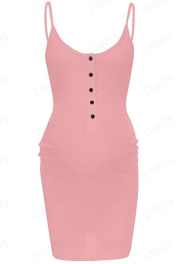 2021 Sunken Stripe Front In Button Pregnant WOMEN'S Dress