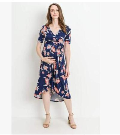 New Pregnant Women Floral Long Maxi Dresses Maternity Dress Photography Session Photo Clothes Pregnancy Summer Beach Dress