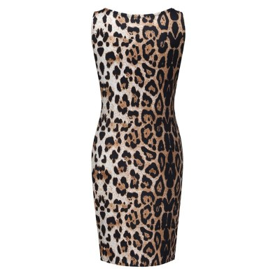 2021 Summer Maternity Dresses Women Sleeveless Pregnant Maternity Sexy Dress Nursing Leopard Print Vest Maternity