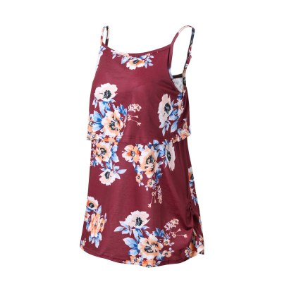 2021 Women Maternity Nursing T Shirts Vest T-shirt Pregnant Breastfeeding Clothing For Pregnant Women Sleeveless Tops Shirt Tee