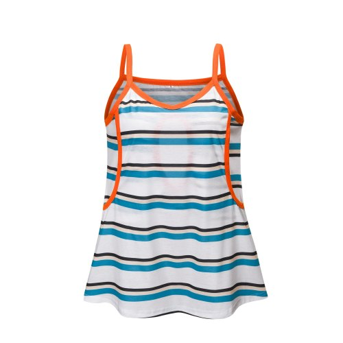 2021 new hot style women's sling European and American striped pregnant mother vest