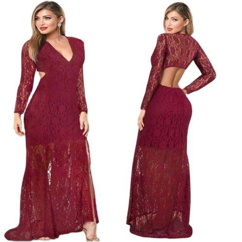 Maternity Dress Photography Props Lace Pregnancy Clothes Elegant Women V-neck Exposed Waist Dresses Pregnant Photo Shoot Vestido
