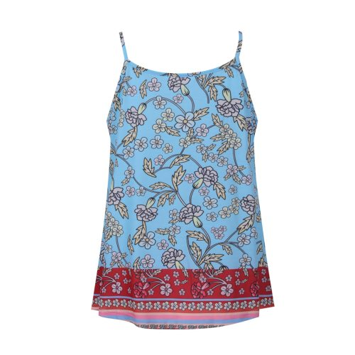 Maternity Clothes Summer Pregnant Vest Breastfeeding Floral Printing Suspenders Nursing Clothes Pregnancy Clothing