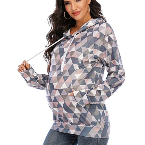 Fashion Baby Mummy Jacket Warm Maternity Hoodies Women Outerwear Coat For Pregnant Womens Clothes Baby Carrier Wearing Hoodie