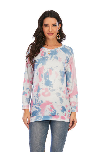 Women Pregnancy T-Shirt Tie-Dye Tops Blouse Casual Clothes Maternity Tops Maternity Comfy Breastfeeding T-Shirt Clothes