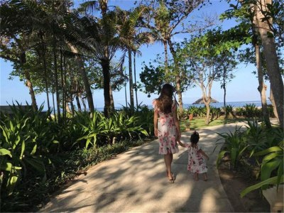 Mom and Daughter Dress Autumn Summer Patchwork Floral Long Dress for Mommy and Me Clothes Family Look Pajamas girls Beach Dress