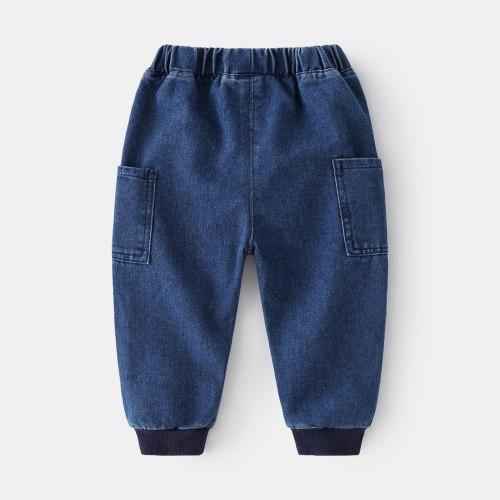 Spring Girls Jeans Baby Kids Jeans for Children Boys Girls Leggings Denim Pants Toddler Pants Girls Kids Pants for Boy Girl 2-8Y