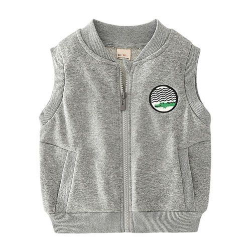 Kids Boy's and Girl's Soft and Cozy Fleece Vest with Classic Fit