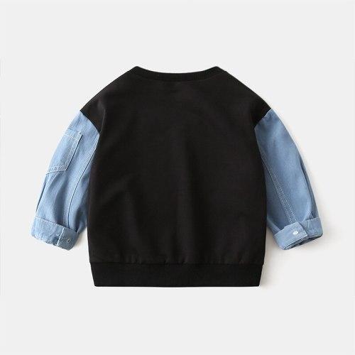 Boys Sweatshirt Kids Hoodies for Girls Children's Boys Boy Baby Hoodie Children Cotton Clothes Toddler Child Sportswear 2-6Y