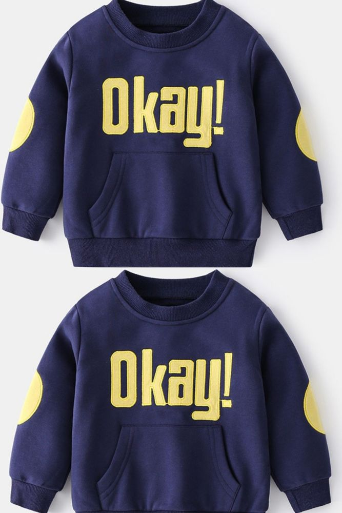 2021 Long Sleeves Pullover For Kids Clothing Boys Sweatshirt Autumn Children's Clothing From 2 To 6 Years 2021 Baby Boys Top