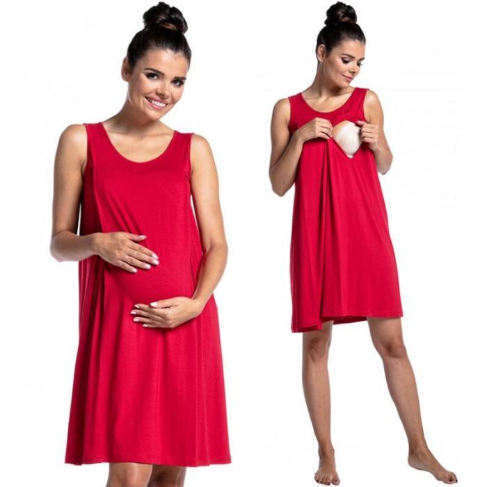 New Fashion Women Pregnant Maternity Pregnancy Nursing Summer Sleeveless Maternity Breastfeeding Dresses For Pregnancy Women