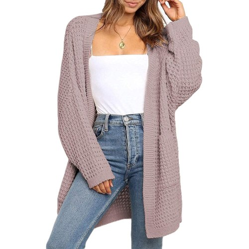 New Maternity Cardigan Women Sweater Oversize 2021 Vintage Long Sleeve knitwear Autumn Winter Loose Coat Top Femme Warm Clothes Ropa Mujer
