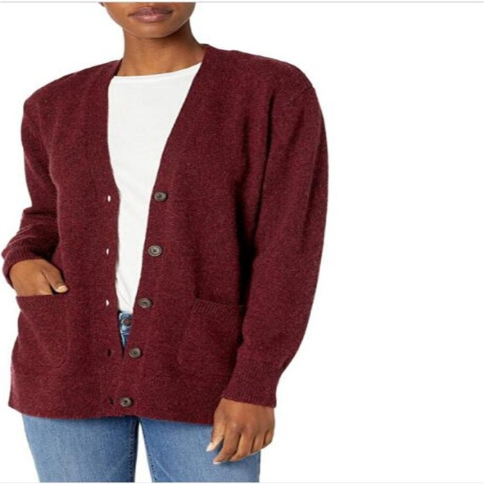 2021 Maternity Fashion Elegant Women V-Neck Single-Breasted Pocket Pure Color Long Sleeve Vintage Loose Thick Sheep Down Cardigan Sweater