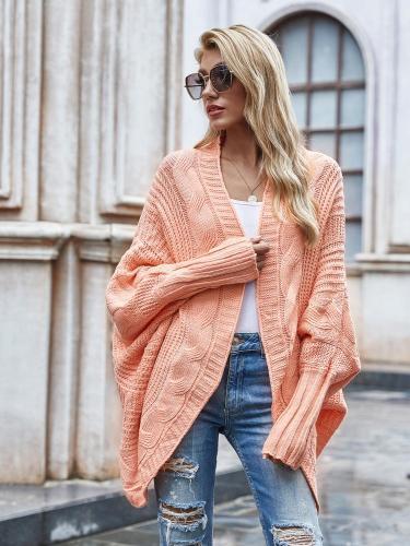 Maternity Cardigan for women 2021 Winter Knitwear Europen Women Loose Sweater Casual Elegant Split Cardigan Women Top Female cardigan