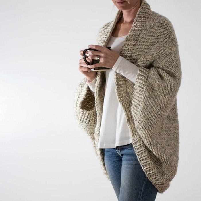 Maternity Sweater Women Sleeveless Knitted Shawl Loose Large Size Bat Sleeve Casual Jacket Autumn and Winter Hot Selling Women's Clothing