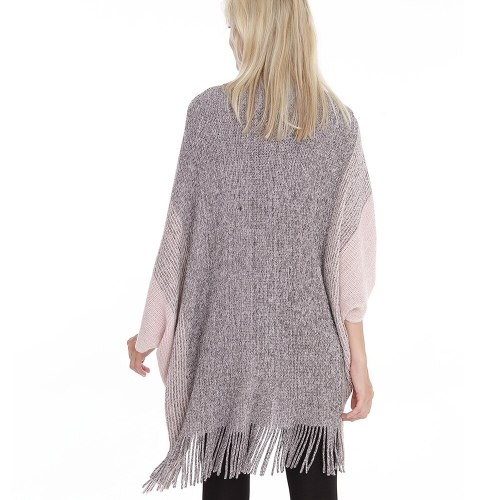 Pregnant Women Knitted Winter Warm Sweater Cardigans Tassel Fringe Shawl Poncho Cardigan Jackets Coats Oversized