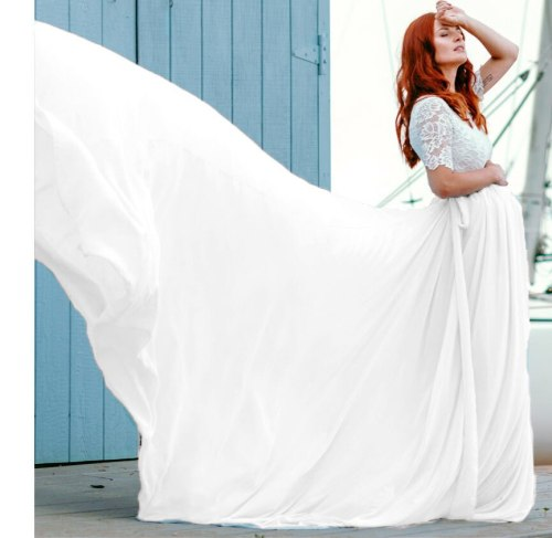 2021 Boho Style Lace Maternity Dress for Photography Maternity Photography  Long Maxi Gown Pregnancy Women Elegant Dress