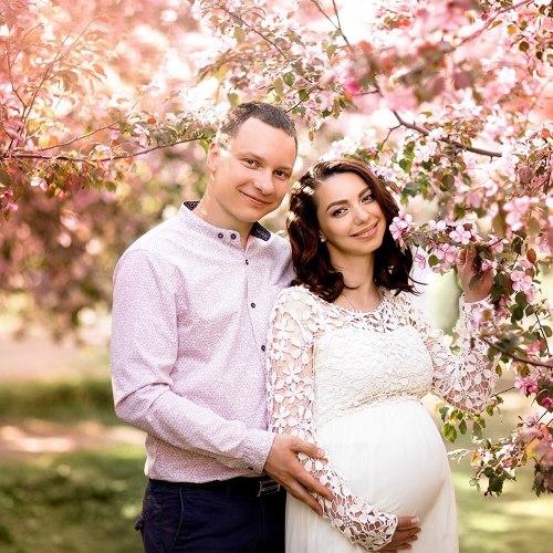 Elegant Maternity Dress For Photography Props White Lace Dress Baby Shower Dress Robe Pregnancy Photo Shooting Chiffon Vestidos
