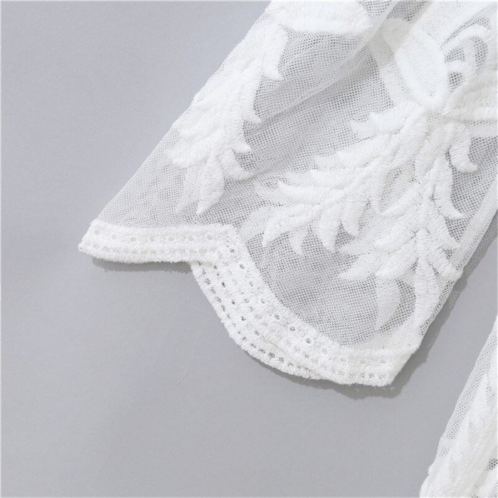 Elegence Pregnancy Maxi Dress Photography Prop Long Lace White Baby Shower Dresses Maternity Gown For Pregnant Women Photo Shoot