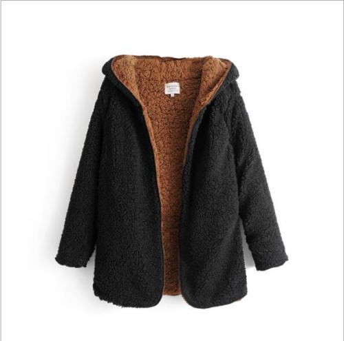 Autumn Winter Women Oversized Faux Lambswool Fur Coat Thicken Hairly Soft Outwear Female Winter Coats