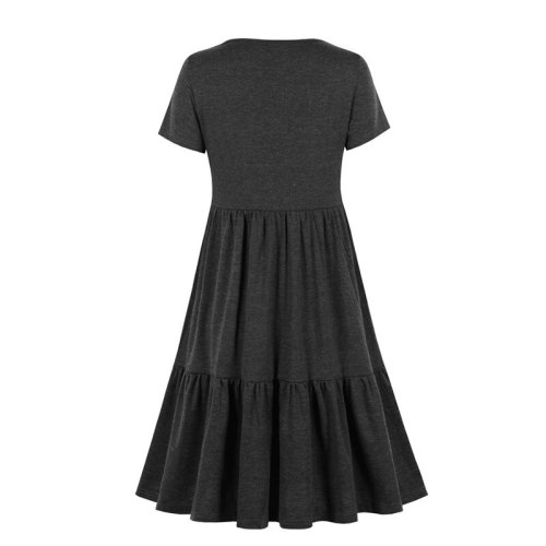 2021 New Women's Pregnancy Sleeveless Nursing Pleat Dress Maternity Dress Breastfeeding Clothes Knee Length Pregnancy Dresses