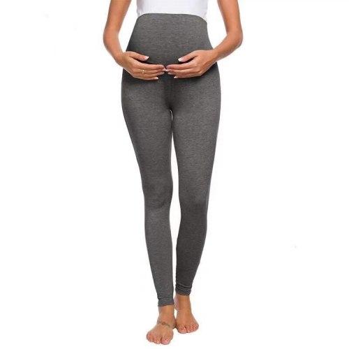 Autumn Winter Pregnant Women Black Leggings for Maternity Warm Soft Long Pants Pregnancy Inner Clothes