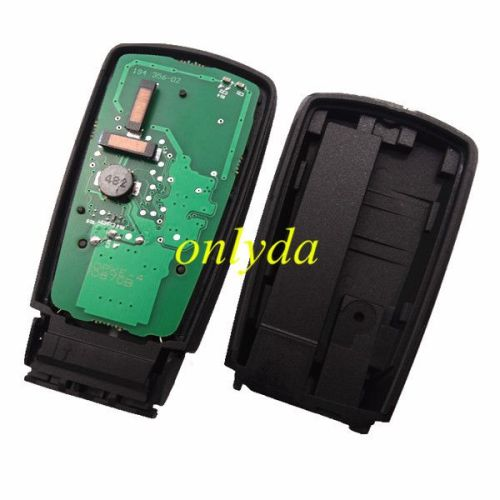 For Audi TT 3 button keyless remote key with AES48 chip-434mhz ASK model