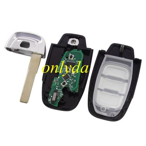 The modified MQB keyless remote with ID48 chip with 434mhz,FSK
