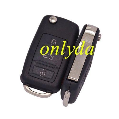 For Audi A3 3+1 button remote key with 434mhz use in model 4E0837220, 4E0837220C, 4E0837220H