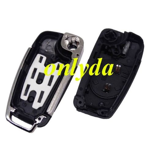 For Audi A6L Q7 3 button remote key with 8E chip & 315mhz/434mhz FSK Model