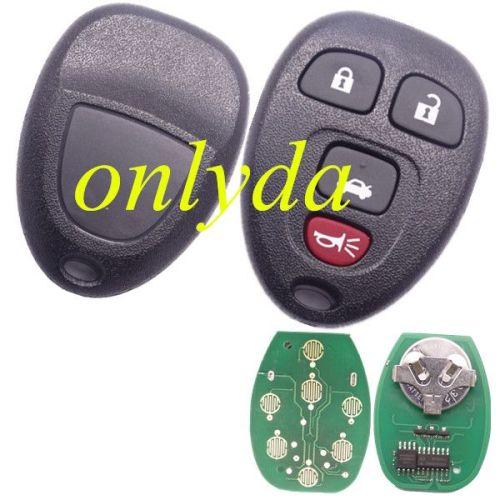 3+1B remote key 315mhz KOBGTOO4A