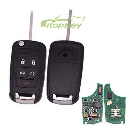 For Buick keyless 4+1B remote 7952chip-315mhz