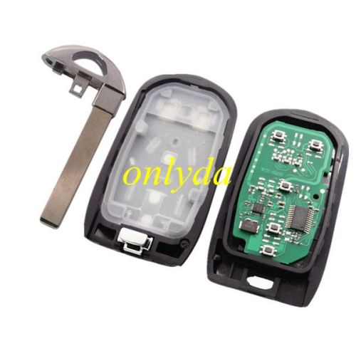 Keyless Smart 4+1 button remote key with 7952E HITAG2 46chip- 315mhz ASK model