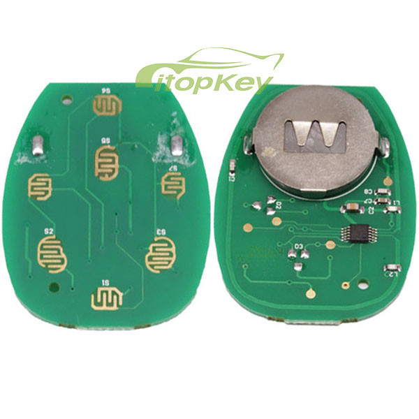 For Buick 4+1 B remote key FCCID KOBGT04A -315mhz
