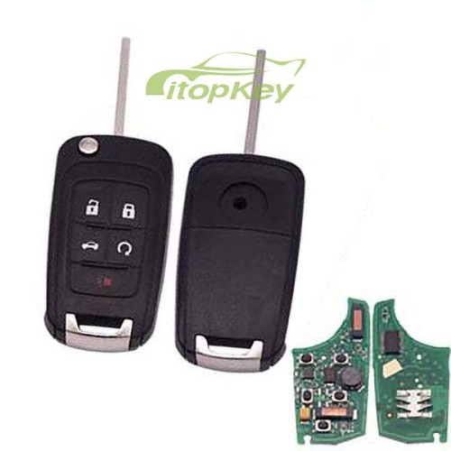 For Buick keyless 4+1B remote 7952chip- 434mhz