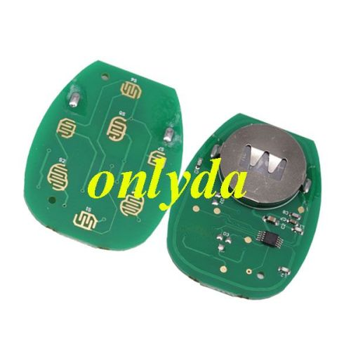 For Buick 4+1 Button remote key with FCCID OUC60270-315mhz