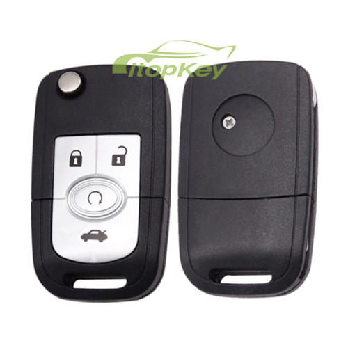For Buick 4 button remote key with 315mhz