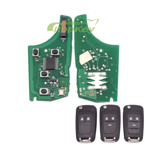 For Buick unkeyless remote 315MHZ-7941 chip used for 2;3;3+1button key