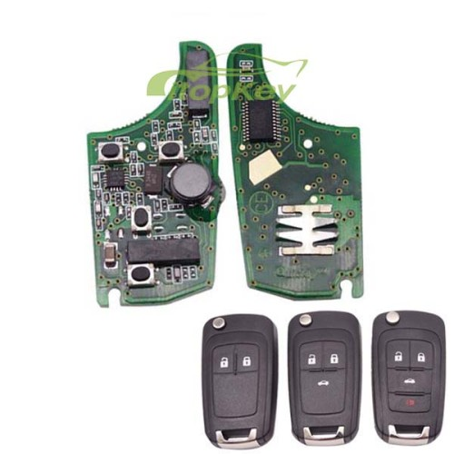 For Buick smart keyless remote 315MHZ -7952 chip 2;3;3+1button , please choose the key shell