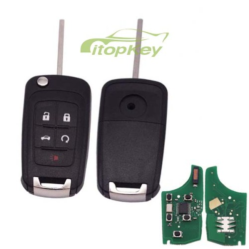For Buick unkeyless 4+1B remote 7941 chip- 434mhz