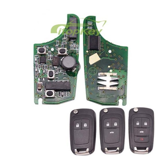 For Buick smart keyless remote 7952chip-433MHZ 2;3;3+1button, please choose the key shell