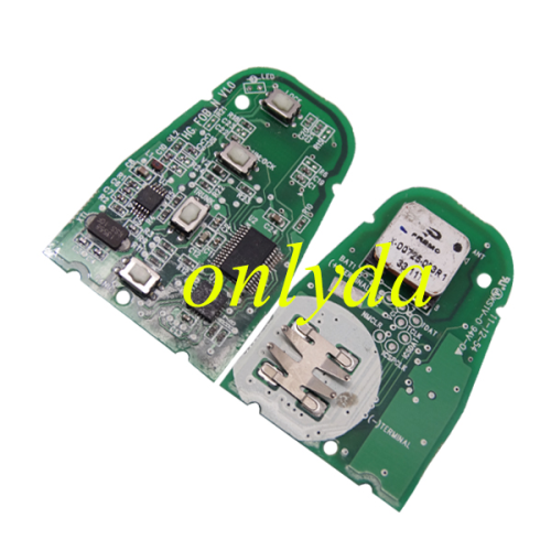 4 Button remote 4D60+dst40 unlock 15A99YTG4,please choose which one do you need ?