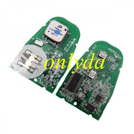 3 Button remote 4D60+dst40 unlock 16C6D5TG4 with 433MHz