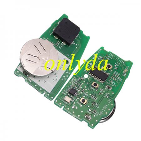 3 Button remote smart cand (HITAG3)unlock F2951X0700 433MHz